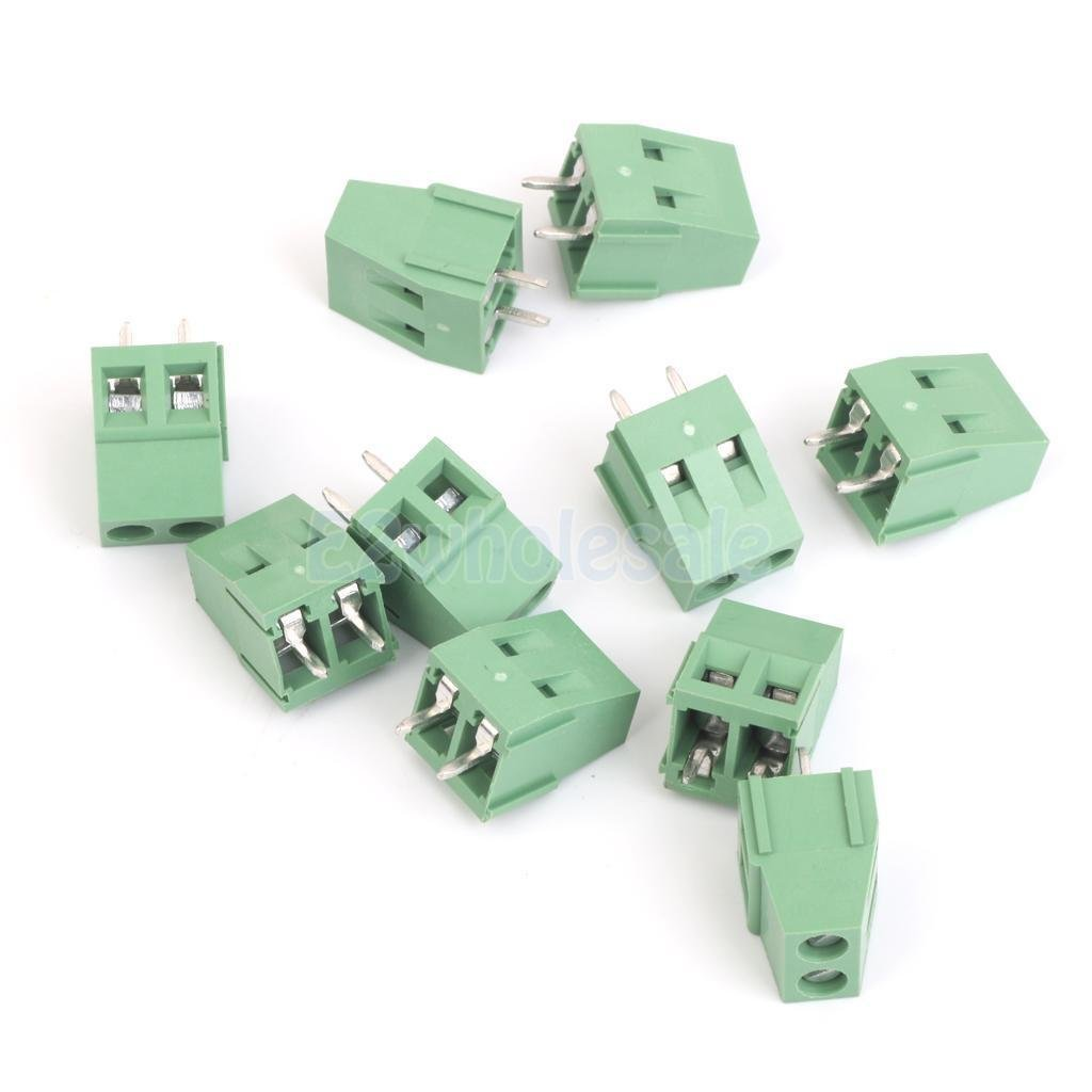 10pcs-5mm-Pitch-2-Pin-Screw-Plug-in-Terminal-Block-Connector-Panel-24-12AWG 10pcs-5mm-Pitch-2-Pin-Screw-Plug-in-Terminal-Block-Connector-Panel-24-12AWG 10pcs-5mm-Pitch-2-Pin-Screw-Plug-in-Terminal-
