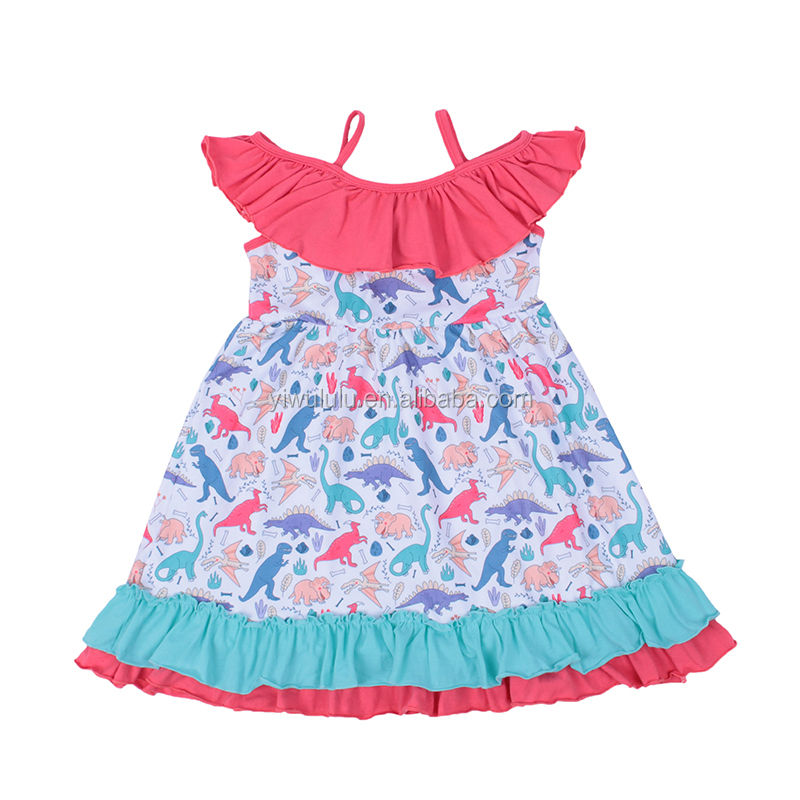 <strong>Fashion</strong> Baby <strong>Kids</strong> Slip Dress Lovely Baby <strong>Girls</strong> Summer Boutique Dress