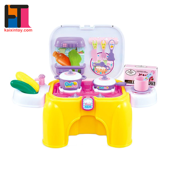 10283262 2017 Christmas Gift Cooking Kitchen Toy Play Set For Kids