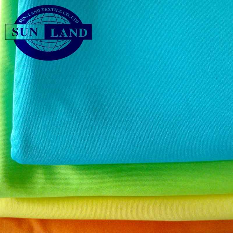 75D72F polyester interlock knit fabric for clothing garment