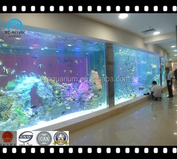 Acrylic Glass Panel Aquarium Manufacturer