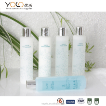 travel ize toiletries cosmetic shampoo bottle set for hotel