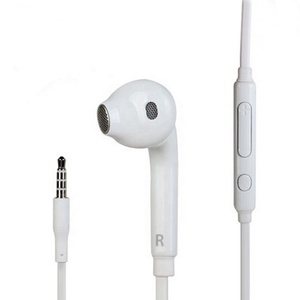 White In-ear Earphone Handfree Stereo Headset for Samsung S6
