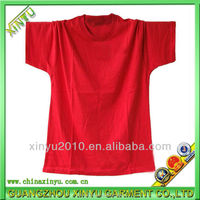 2016OEM factory blank cheap fashion short sleeve cotton t-shirt