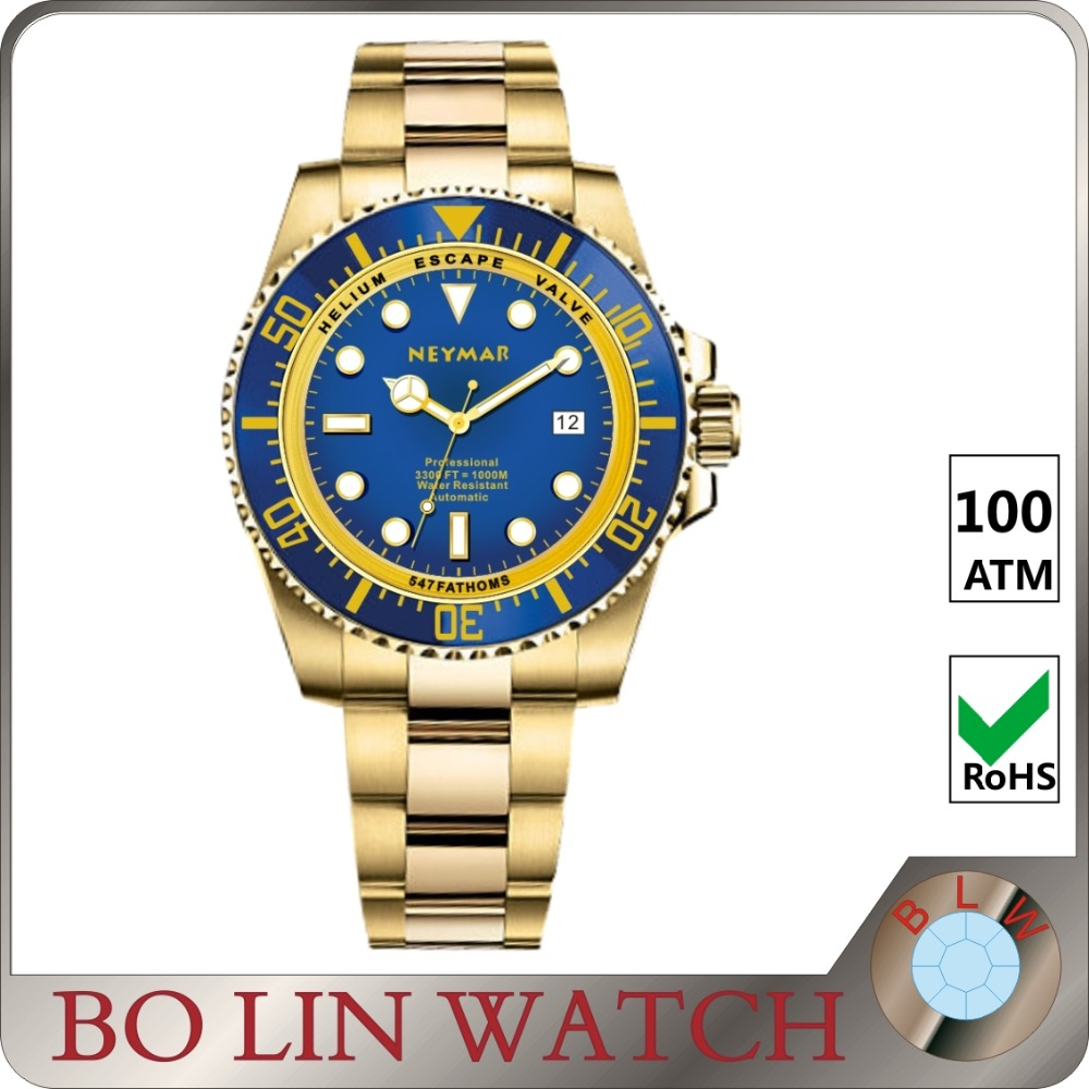 high quality stainless steel with eta7750 movement watch best gift for men and women