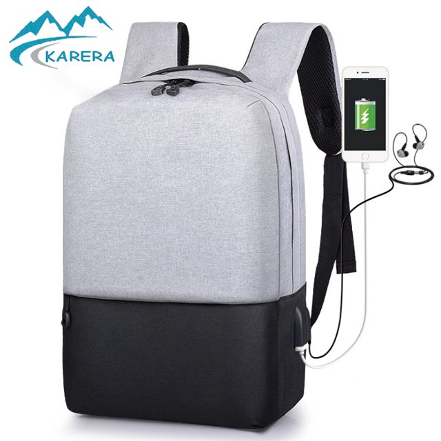 스마트 Anti-테 프트 물 proof Men's Business Laptop 도난 방지 Backpack 백 팩 Bagpack Bag 와 USB Charging Port