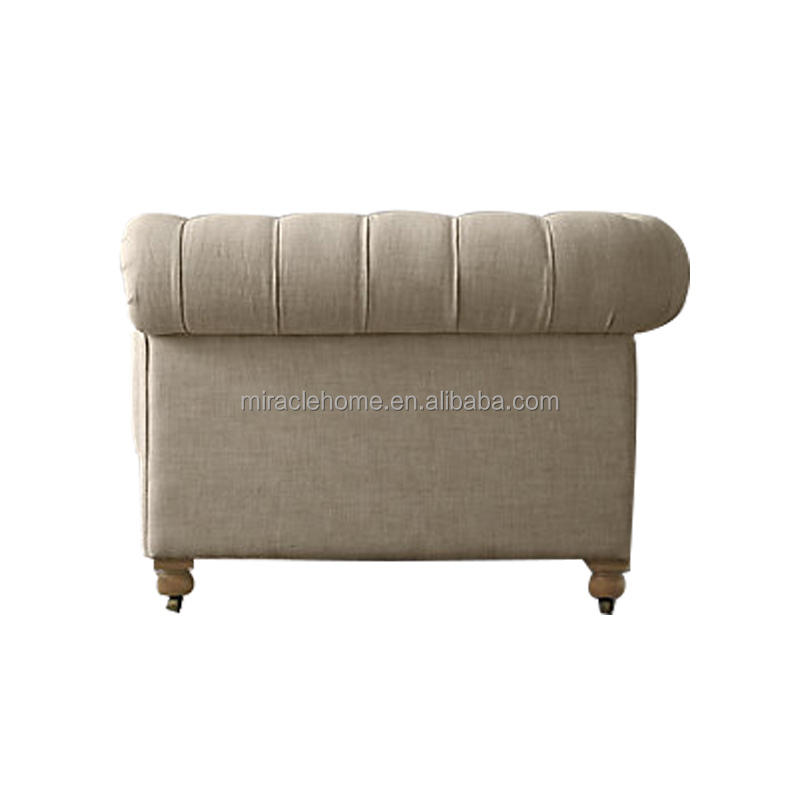 The classical Barton tufted back style Cambridge Chesterfield sofa
