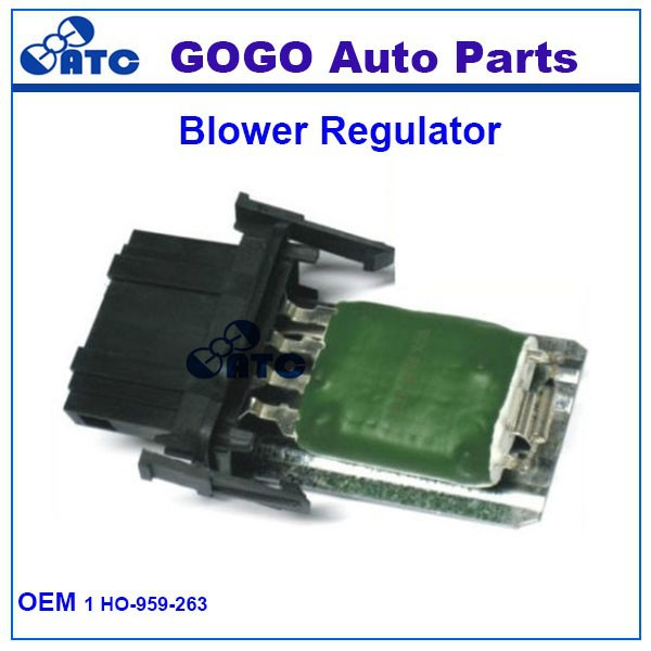 High Quality Heater/Blower Motor Fan Resistor for VW Caddy Polo Seat OEM 1 HO-959-263 1H0959263