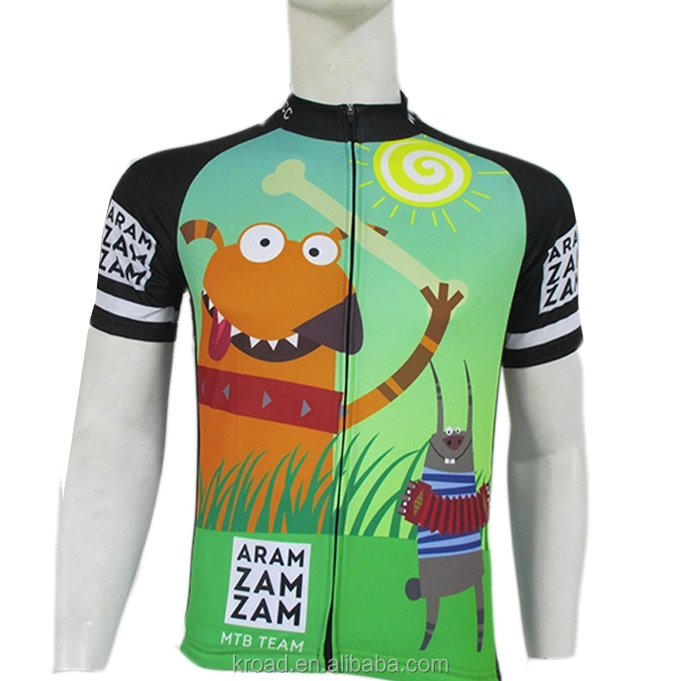 sublimation cycling custom printing Men's Bicycle Jersey