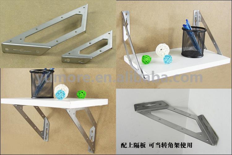 heavy duty floating shelf for glass shelf