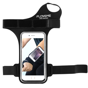 FLOVEME Running Phone Armband Case for IPhone 7P Armband With Finger Hole For IPhone 6 Outdoor Sport Cover For 5.5 inch