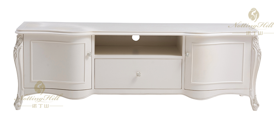 French Style Wooden Furnture Of Tv Cabinet