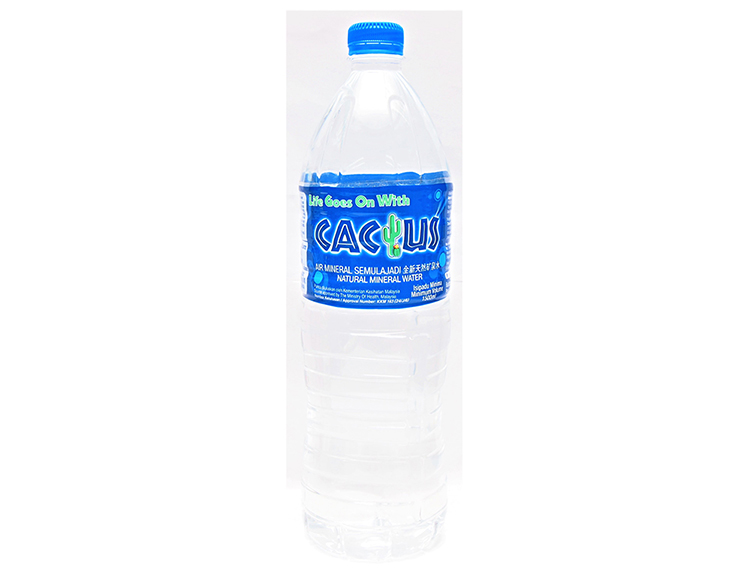 Natural Mineral Water 12 X 1.5 LTR