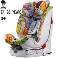 23 years factory supply safety infant baby seat in car with ECE4