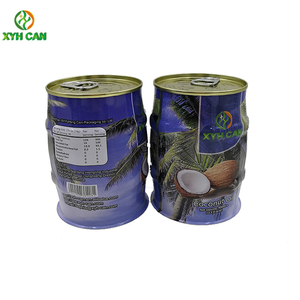 China manufacturer food grade coconut water packaging coconut oil tin cans