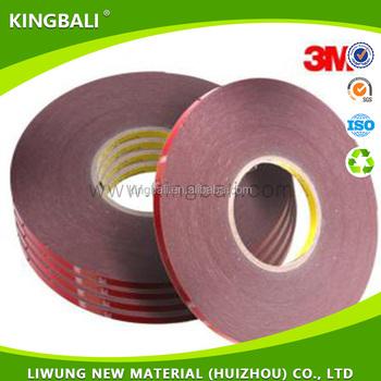 3m 5962 Vhb Acrylic Foam Tape 3m Double Sided Tape Vhb Tape 3m - Buy Vhb  Tape 3m,3m 5962,3m 5962 Adhesive Product on Alibaba com