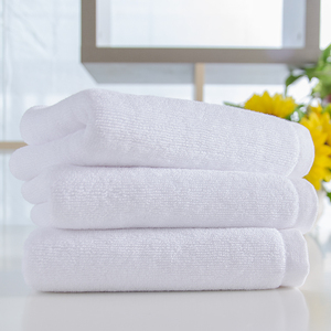 Terry Towel Cotton 100% White Hand Towel Used Hotel Towels Custom Logo