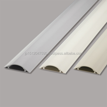 pvc shock proof wire protection cover for telephone wiring ducts