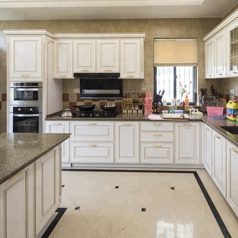 Verona Real Solid Wood Kitchen Cabinet