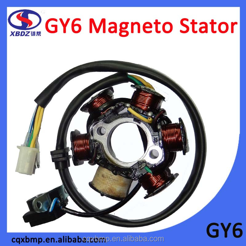 GY6 Motorcycle Magneto Coil Stator for Honda Motorcycle