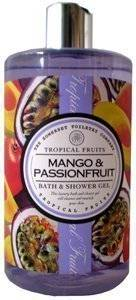 Asquith & Somerset Tropical Fruits Mango & Passionfruit Bath & Shower Gel 17 Fl.Oz. From England