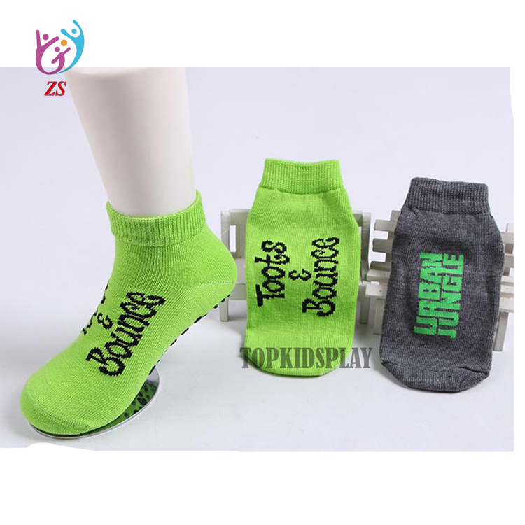 Top quality&service customized indoor trampoline slip resistant socks