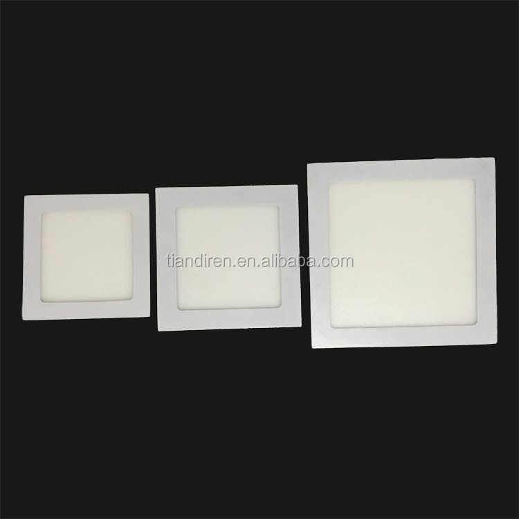 3w Mini 90mm Size 75mm Cut Out 15 Smd2835 Square Led Panel Recessed Light Ultra Thin Small Ceiling Down Lighting