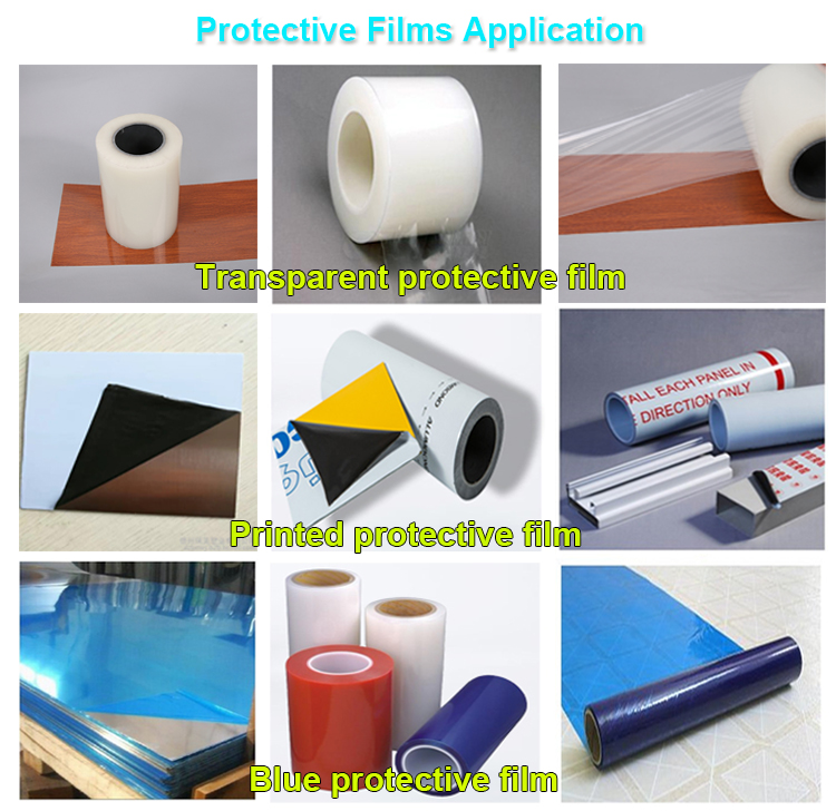 PE Protective Film for wood Floor