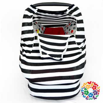 Newest Black White Stripe Baby Car Seat Cover With Zippers Toddler Car Seat Covers Canopy Design  sc 1 st  Alibaba & Newest Black White Stripe Baby Car Seat Cover With Zippers Toddler ...