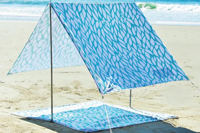 Beach sun shade tent kids play sun beach folding pop up beach tent & Beach sun shade tent kids play sun beach folding pop up beach tent ...