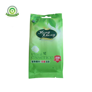 Wholesale custom antibacterial clean wet wipes tissue with individually packaged