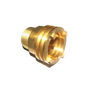 Brass Compressor Fitting screw and inserts auto lathe parts for machinery chrome plate or nickel plate surface treatment