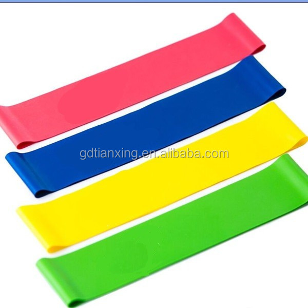 New Best Sell Eco-friendly Yoga Fitness Stretch Latex Resistance Rubber Bands