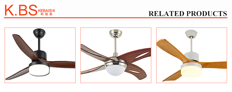 Winding Machine DC Motor Cooling Fan Wooden Ceiling Fan With Light And Remote
