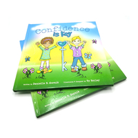 Wholesale custom high quality cartoon picture hardcover children story book printing services