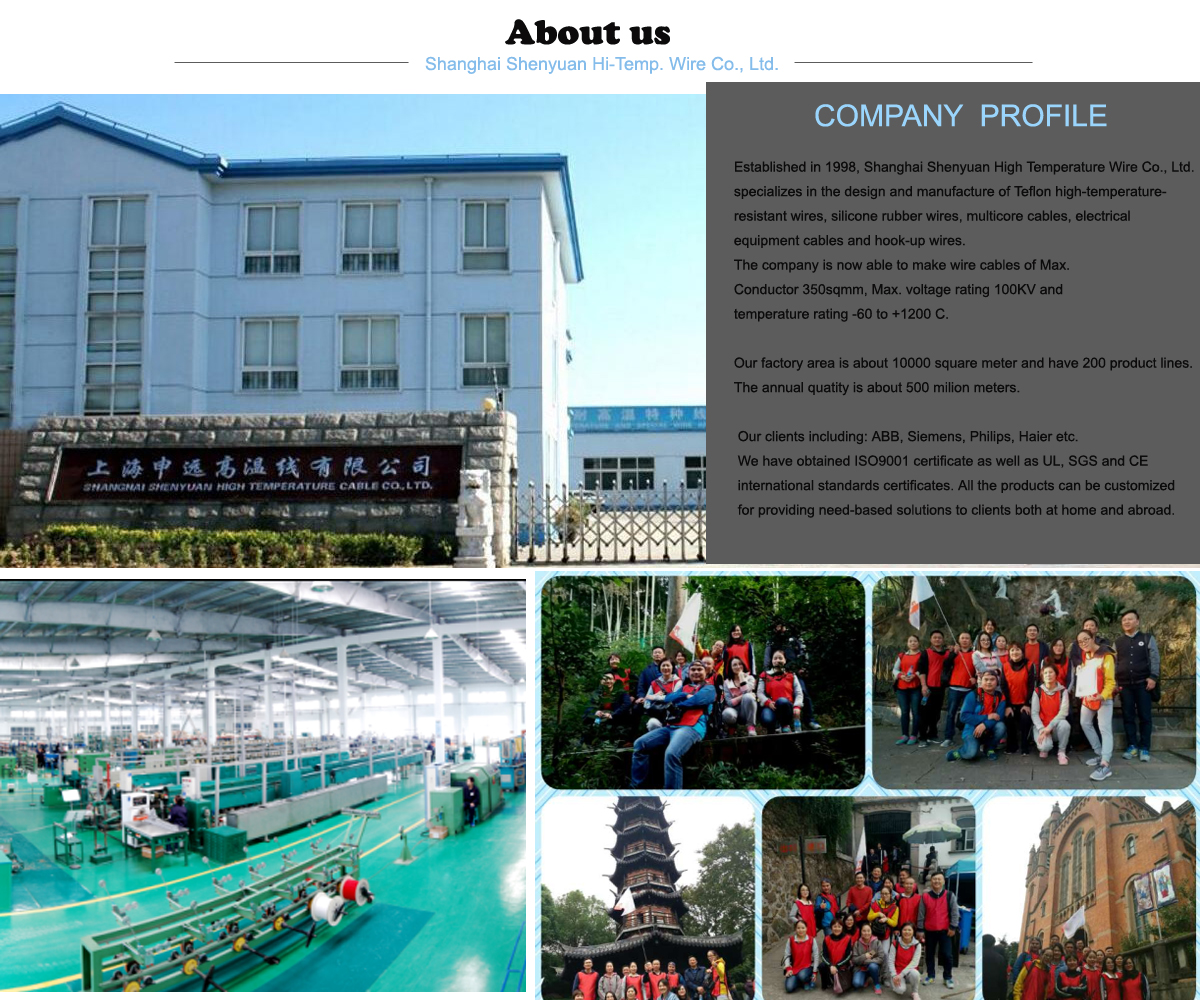Shanghai Shenyuan High Temperature Cable Co Ltd Ul Teflon Wire Wiring Company Tracy Xia