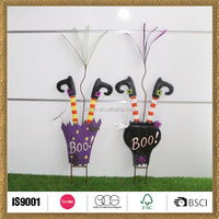 custom made garden wholesale halloween body upside down gift items