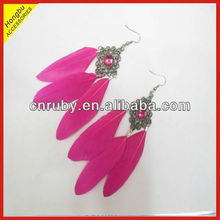 Clip On Feather Earrings Clip On Feather Earrings Suppliers And