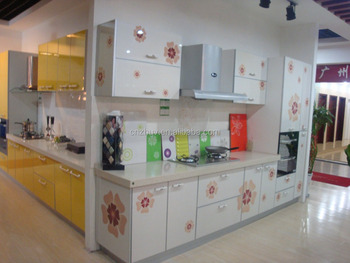 Modern Kitchen Cabinets Design With Microwave Oven Cabinet