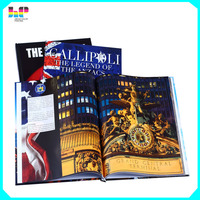 Well Designed Full Color Custom Paperback Hardcover Book Printing service