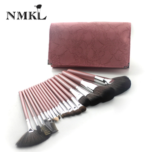 18pcs Soft Nylon Round Shape Common Makeup Brush Sets Cosmetic Makeup Get It Beauty