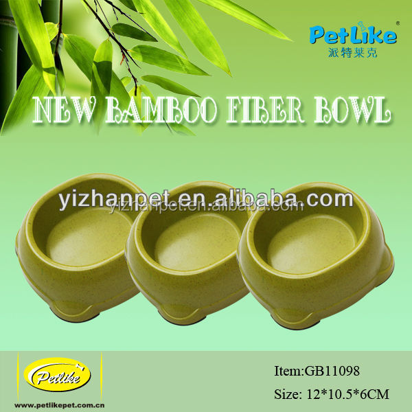 Hot sale Silicone Mat Dog Bowl bamboo fiber material
