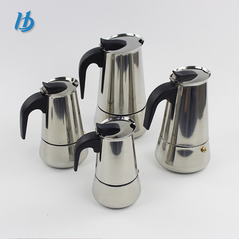 Stainless steel portable unique coffee maker