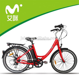 Simple style electric bicycle/ebike/ 36V 10Ah lithium battery designed for lady