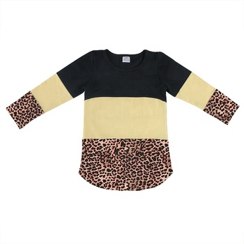 wholesale mommy and me dresses leopard cotton mother daughter matching clothing
