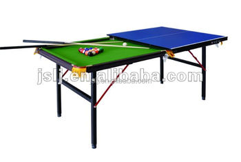 Factory Sale Small Multifunctional Foldable Table Tennis Tables Pool Table  D9807