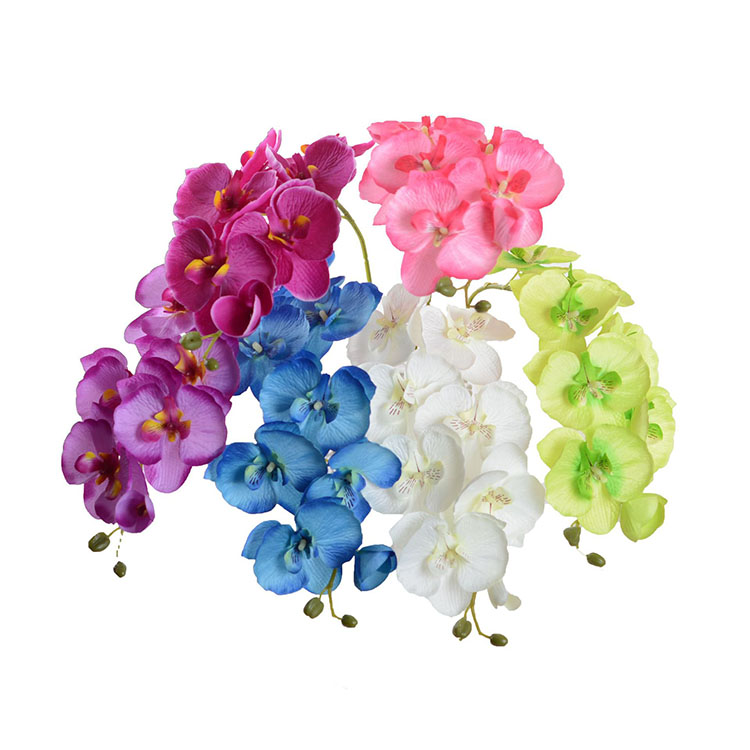 Silk artificial orchid <strong>flowers</strong> for sale artificial orchid plants for decoration