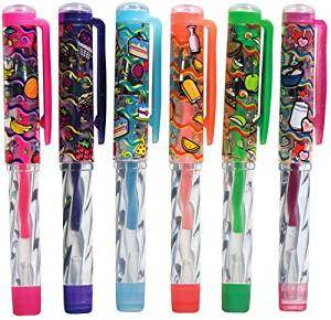 Scent-Sibles Dessert Mini Crystal Twist Gel Pen (60 Pieces) - Write In Style With These Yummy Scented Gel Ink Pens In A Variety Colors. Gel Ink Color Matches Cap.