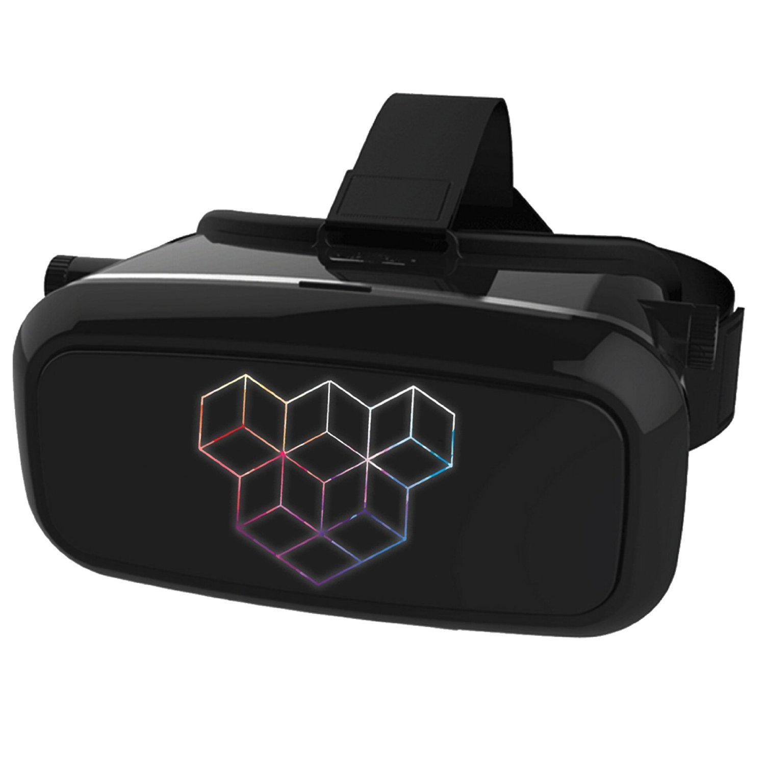 VOXEL 2.0 VR Virtual Reality Headset – Active 3D Glasses & Home Theater System for Video Games & Movies – Samsung, iPhone and Google Smartphones – Mobile Game