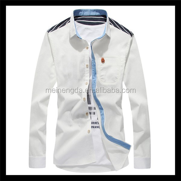 alibaba best seling products most attractive pure cotton white pilot shirt